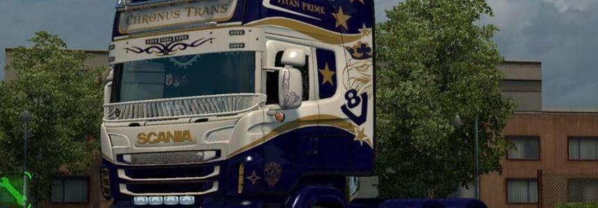 Scania RJL Titan Prime Skin