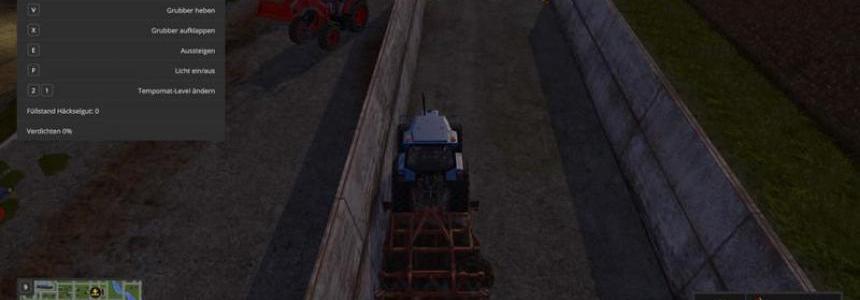 Silage Bunker Cleaner v1