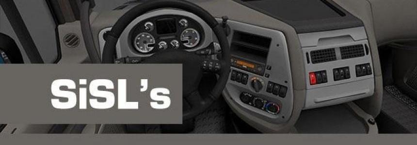 SiSL's DAF XF 105 Interiors