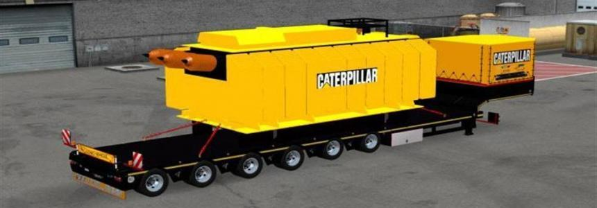 Trailer with Caterpillar Heavy Transformer v1.1