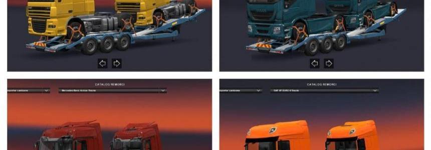 Truck transporter trailer v1