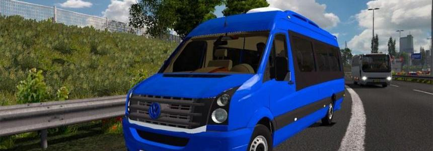Volkswagen Crafter 2.5 TDI by Hussein Country