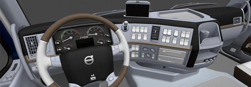 VOLVO FH16 2009 White Interior