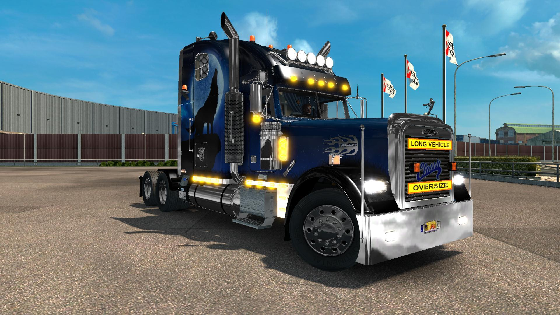 Freightliner Classic XL Custom V2.0 for 1.25