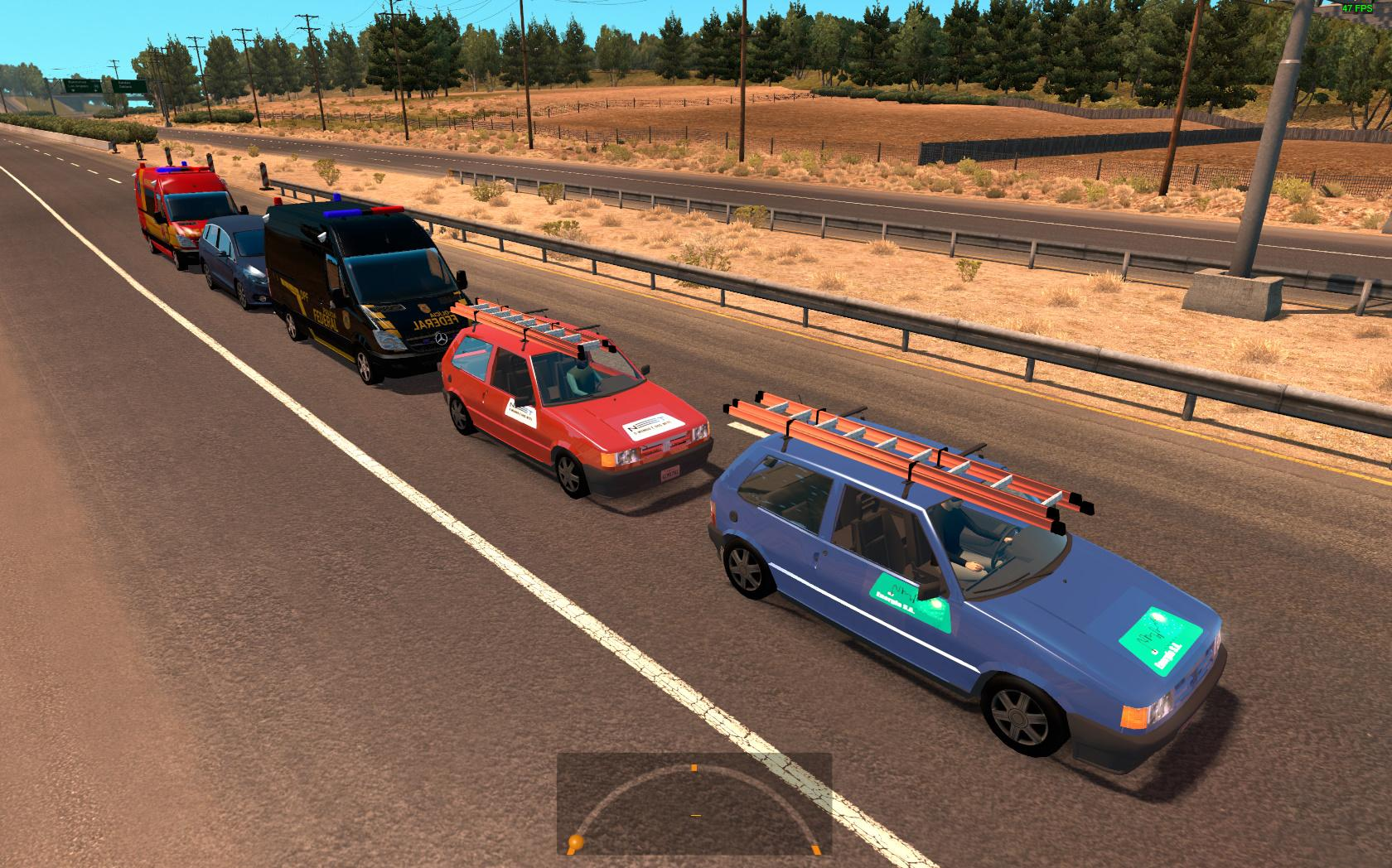 Large package of the Brazilian traffic for 1.4