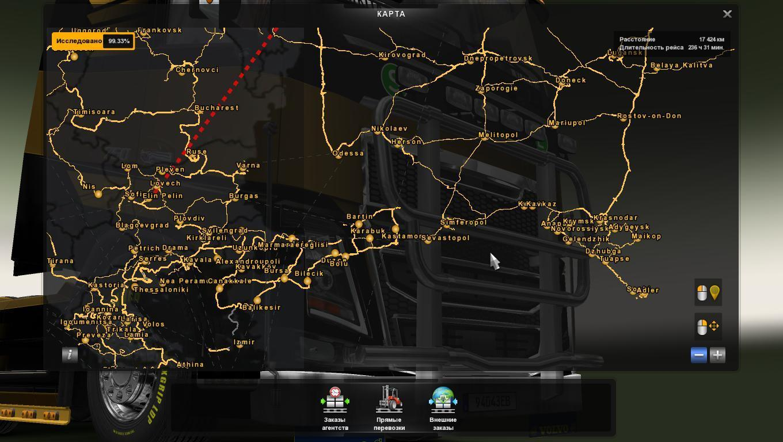Eaa bus pack v1 6 mod euro truck simulator 2 mods - Map Morozov Express V6 5 For 1 25 Modhub Us