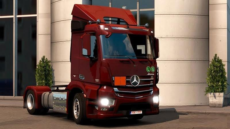 Mercedes-Benz Antos '12 for ETS2 v1.25