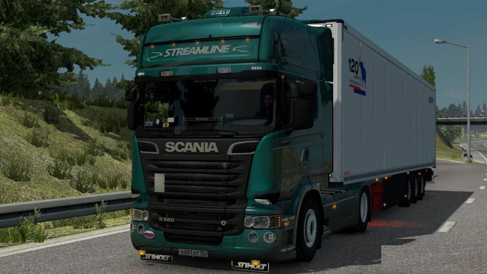 Scania Megamod v 6.5.5
