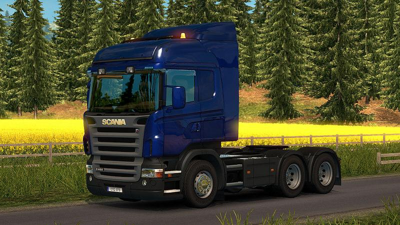 Scania R & Streamline Modifications v2.0 for 1.25