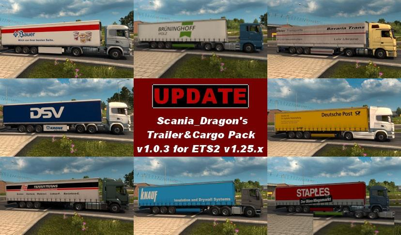 SDMods Trailer & Cargo Pack v 1.0.3 (Update)