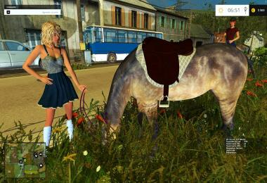 Equestrian woman v2