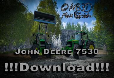 John Deere 7530 Premium v1