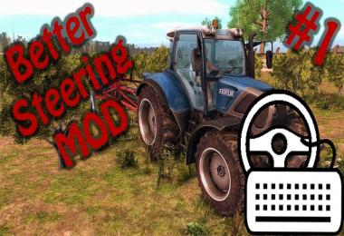 Better steering with keyboard v1.0
