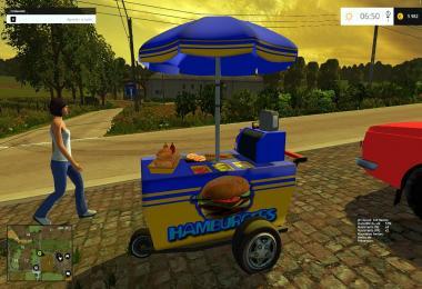 Burgers cart