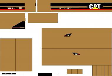Cat 312BL body v1.0