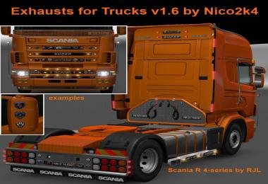 Exhausts for Trucks v1.6 by Nico2k4