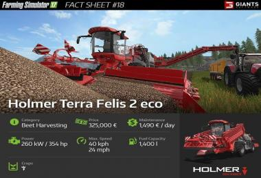 FARMING SIMULATOR 17 FACT SHEET #18