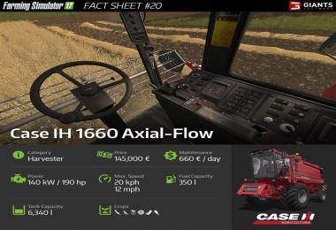 FARMING SIMULATOR 17 FACT SHEET #20
