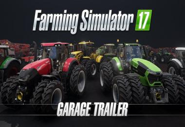 Farming Simulator 17 – Garage Trailer
