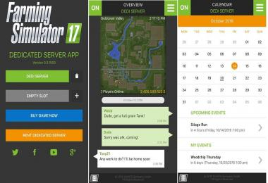Farming Simulator 17 - Improved Dedicated Servers and App
