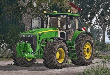 John Deere 8530 Washable v1.0