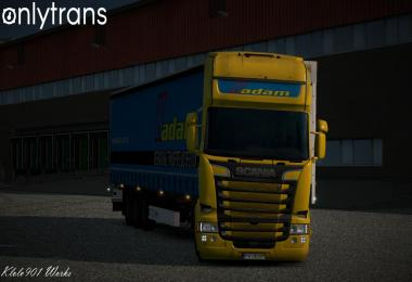 Kadam skin for Scania RJL and SCS 1.25