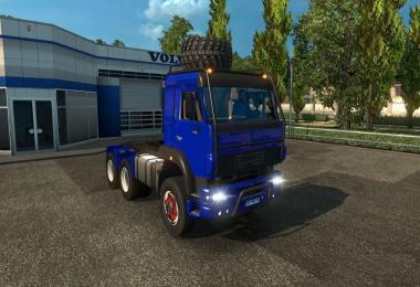 Kamaz 6460 Hybrid 8x8 Dump Truck V1.25 Fixed
