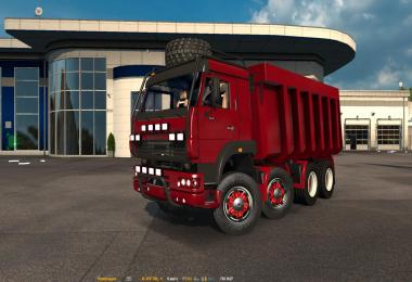 KAMAZ MONSTER 8x8 [RED] 1.25.x