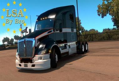 Kenworth t680 Double Bumper + Engine 625hp Multiplayer