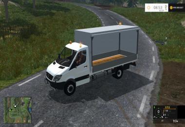 MB Sprinter Planenpritsche V1