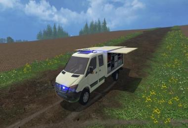 Mercedes Sprinter ambulance trolley NRW v1.0