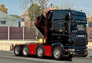 New Chassis for Scania Megamod