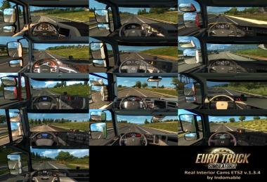 Real Interior Cams ETS2 v1.3.4