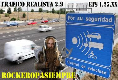 Realistic traffic v2.8 by Rockeropasiempre for 1.25