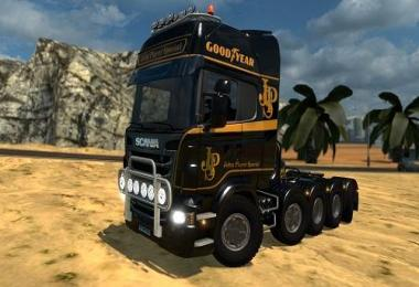 Scania R 8x4, Scania R 10x4 3 in 1 1.21-1.25