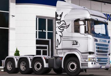 Scania Streamline 8x4 Chassis