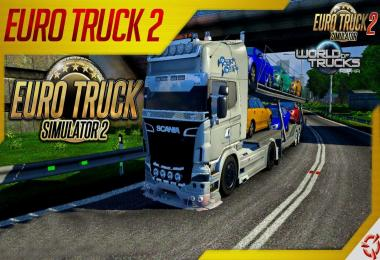Scania Tunning Mega Mod v1.0 (v1.25.x)