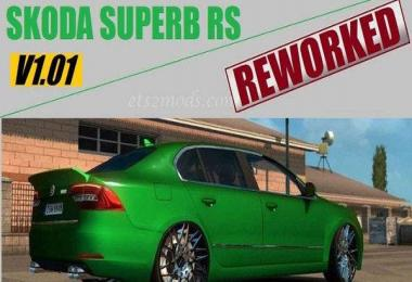 SKODA SUPERB RS – REWORKED v1.0
