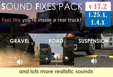 Sound Fixes Pack v17.2 (stable release)