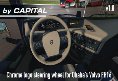 Steering Wheel for Ohaha FH16 2013 – By Capital v1.0