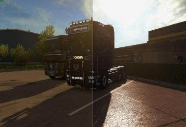 SweetFX ETS2 Improved graphics ETS2