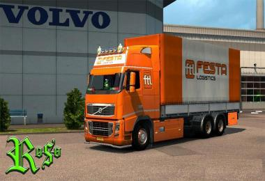 Volvo 2009 BDF Tandem Festa Trasporti Logistics