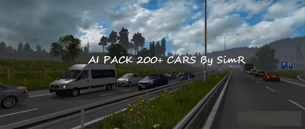 AI TRAFFIC CAR 200+ By SimR