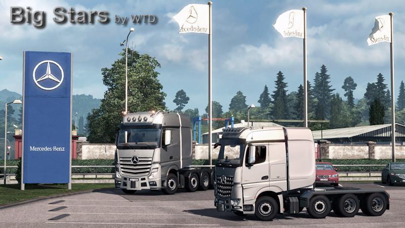 Big Stars - Actros / Arocs SLT V1.3