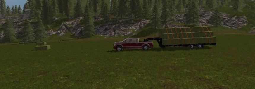PJ Trailer 25ft Plus Log Trailer V1