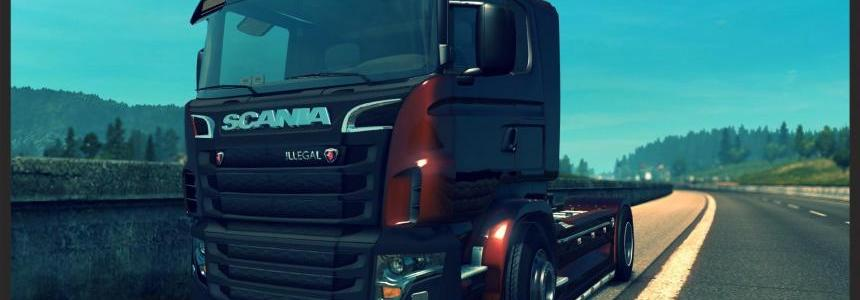 SCANIA ILLEGAL v8