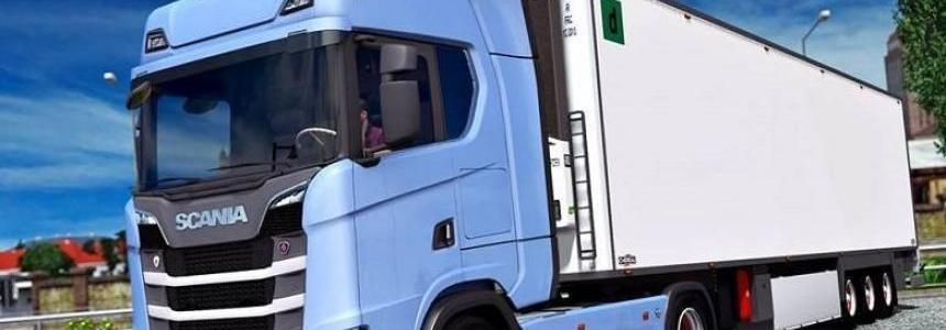 Scania S730 Full Truck