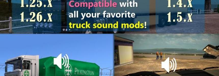 Sound Fixes Pack v17.7 for ATS
