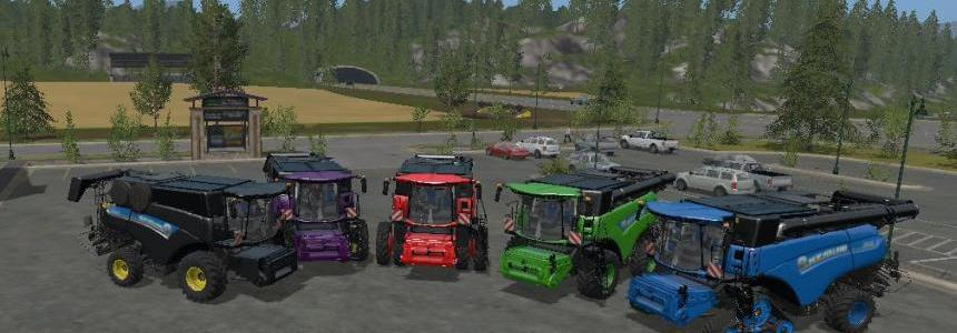 New Holland CR1090 twinwheels multicolor v1.1