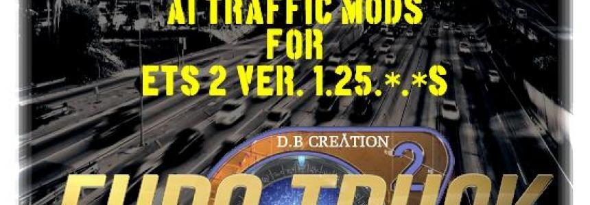 AI Traffic Mods [04.11.2016] BY D.B CREATION For 1.25.*.*s